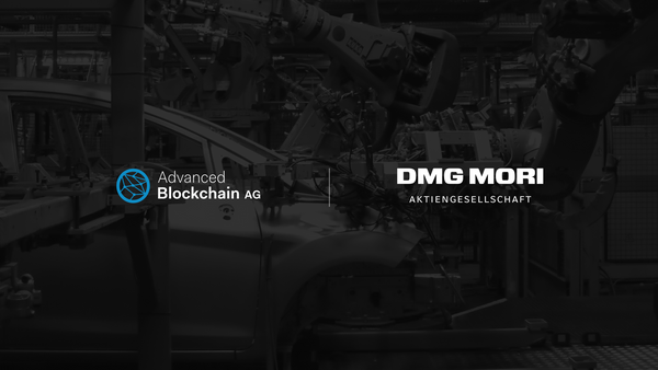 Advanced Blockchain AG and DMG MORI join forces to strengthen digitisation expertise