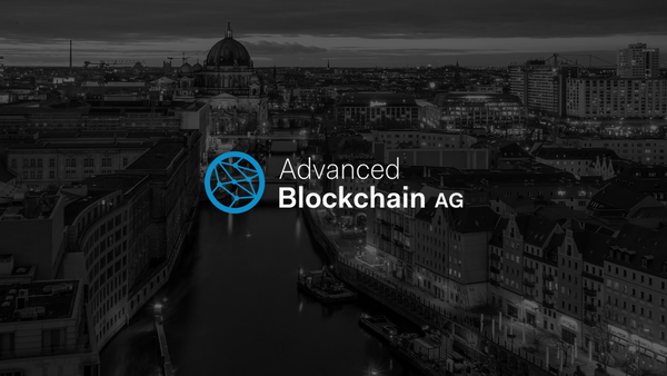 Advanced Blockchain AG Enters into a Software Sale Agreement with a Software Development Company