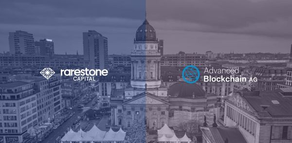 Advanced Blockchain AG Has Partnered with Rarestone Capital for the Development and Incubation of Web 3.0 Projects